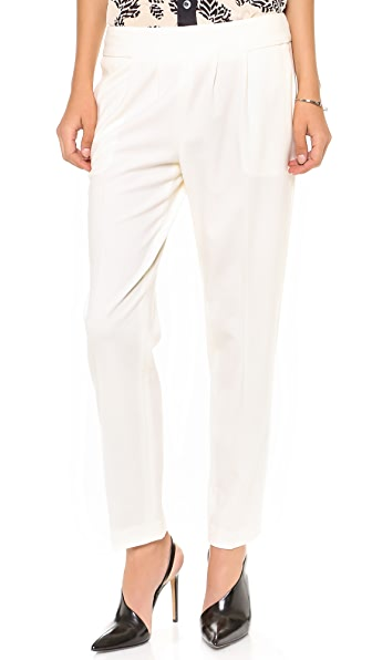 Nili Lotan Zipper Back Trousers