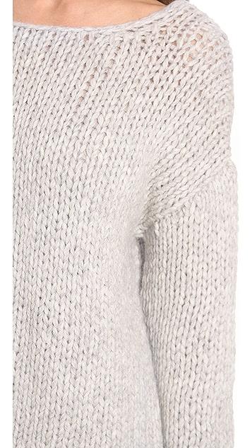 Nili Lotan 18-8 Hand Knit Oversized Sweater