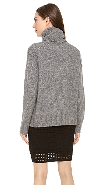Nili Lotan 18-8 Oversized Turtleneck