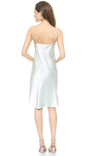 Nili Lotan Insert V Cami Dress