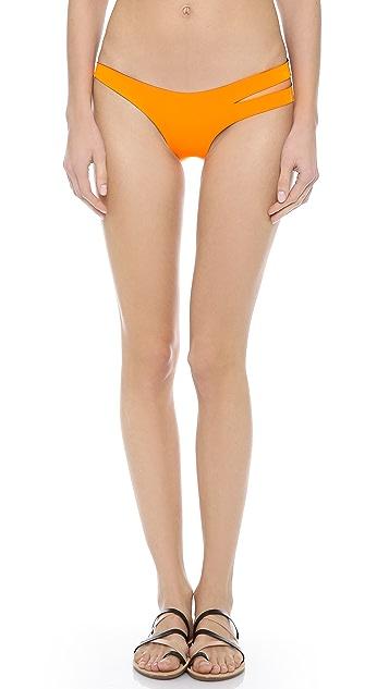 N.L.P Classic Cut Out Neoprene Bikini Bottoms