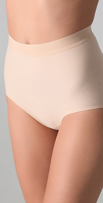 Nearly Nude Thinvisible Smoothing Cotton Briefs