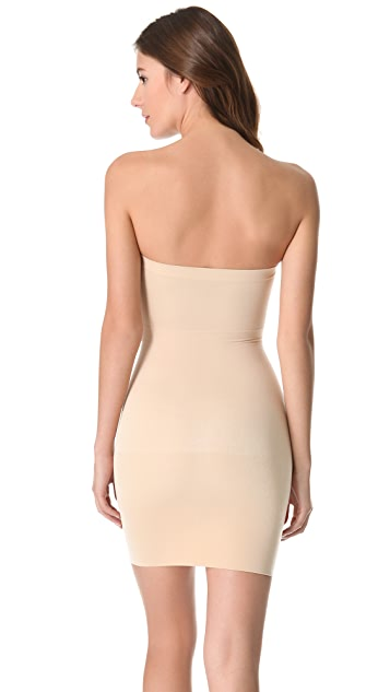 Nearly Nude Strapless Slip