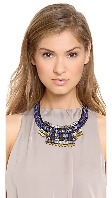 Nocturne Poly Mustard Necklace