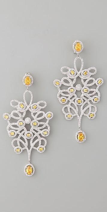 Noir Jewelry Ornate Earrings