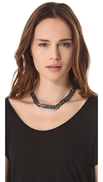 Noir Jewelry ID Necklace