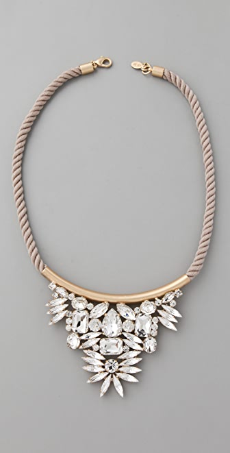 Noir Jewelry Crystal Cluster Necklace