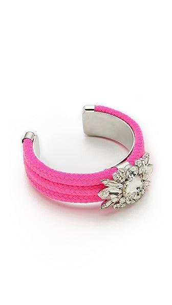 Noir Jewelry Neon Crystal Cuff
