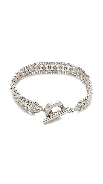 Noir Jewelry Noir for L.A.M.B. Small Cone Bracelet