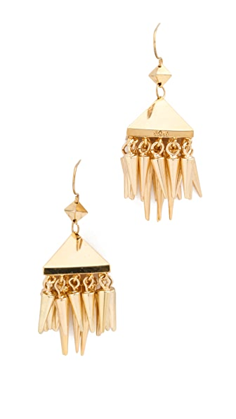 Noir Jewelry Noir for L.A.M.B. Dangle Spikes Earrings