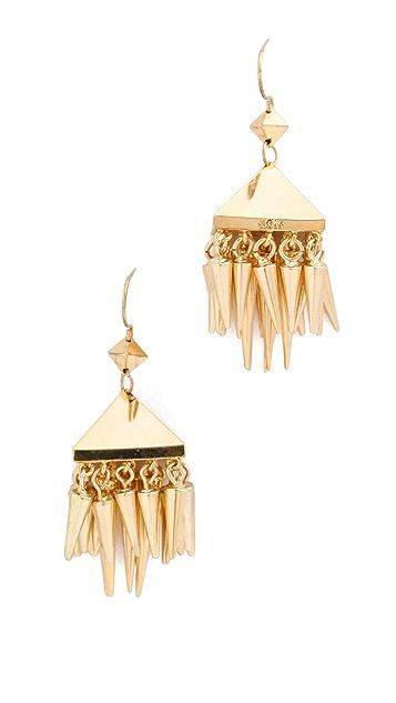 Noir Jewelry Noir for L.A.M.B. Dangle Spikes Earrings