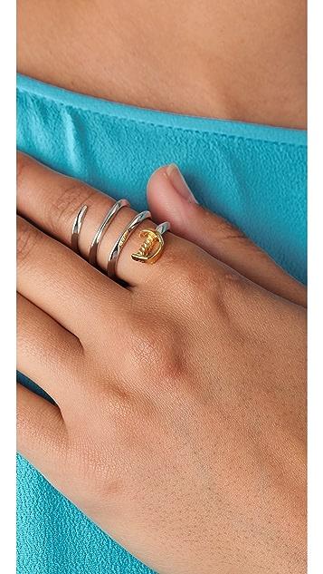 Noir Jewelry Sword Wraparound Ring