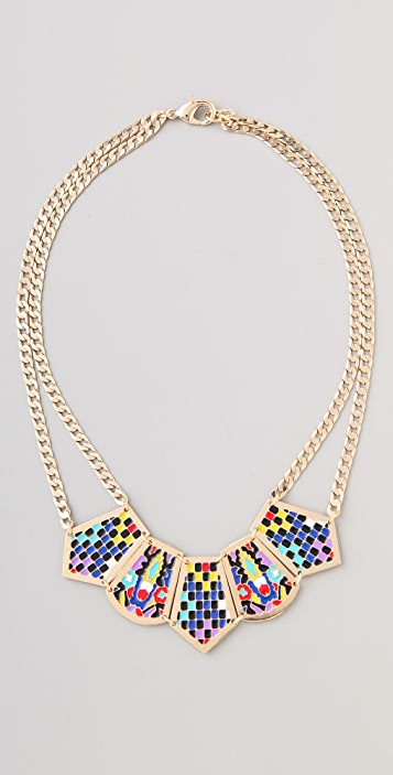 Noir Jewelry Short Hacienda Necklace