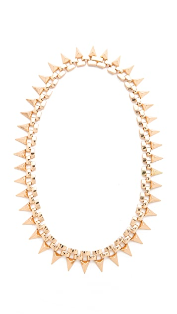 Noir Jewelry Metal Mix Triangles Necklace