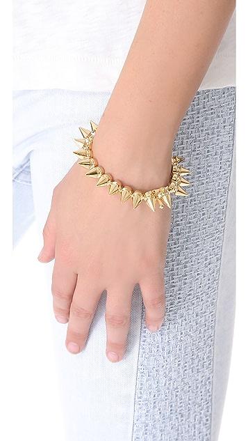 Noir Jewelry Metal Mix Tree Spike Bracelet