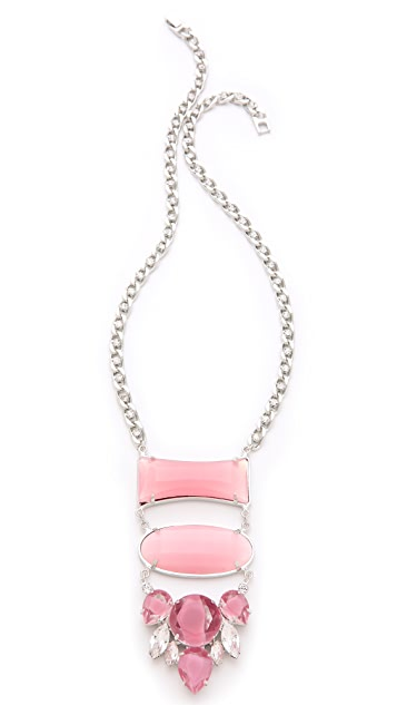 Noir Jewelry Barbados Drop Down Necklace