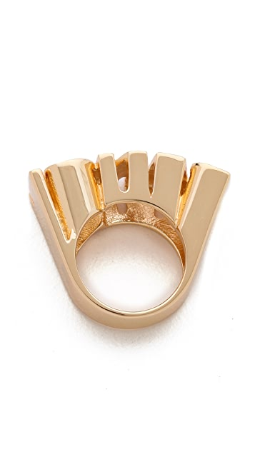 Noir Jewelry Bang Ring