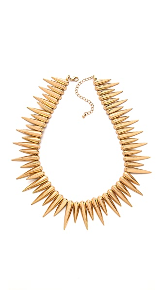 Noir Jewelry Spike Choker Necklace