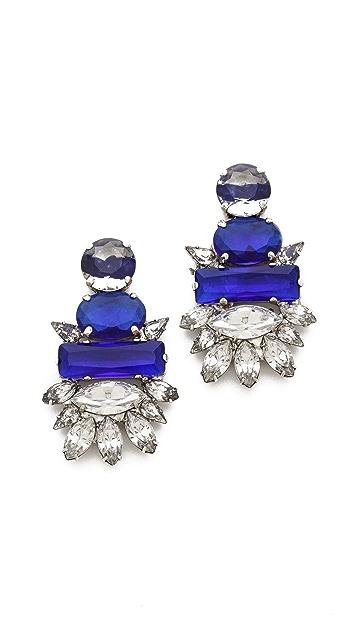 Noir Jewelry Crystal Earrings