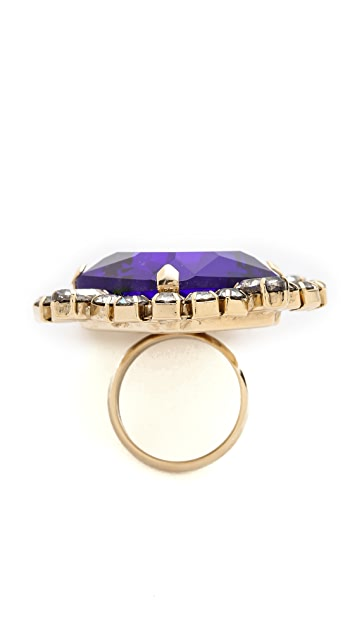 Noir Jewelry Gem Cocktail Ring