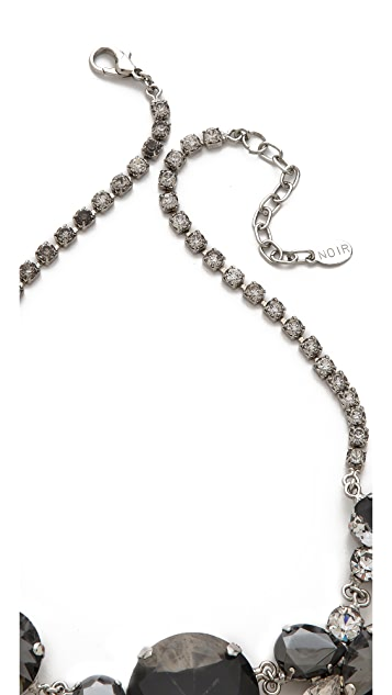 Noir Jewelry Crystal Necklace