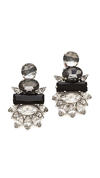 Noir Jewelry Crystal Earrings