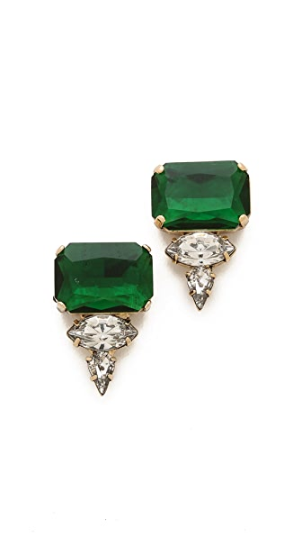Noir Jewelry Crystal Stud Earrings