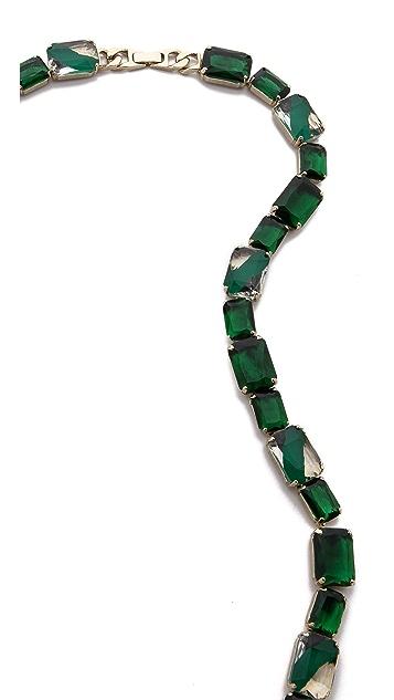 Noir Jewelry Fringe Necklace
