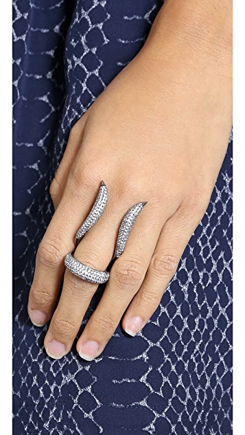 Noir Jewelry Crystal Statement Ring