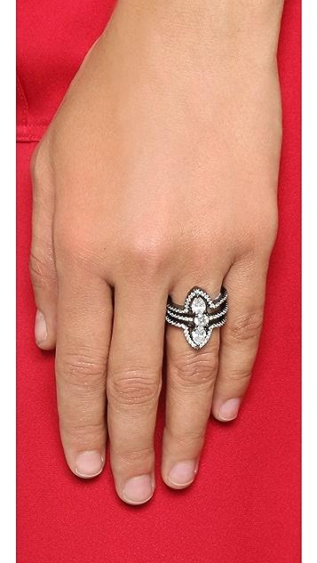Noir Jewelry Belvedere Stack Ring