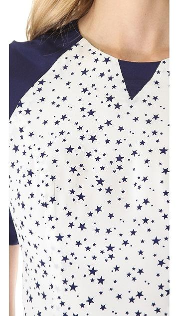 Misha Nonoo Sierra Raglan Star Dress