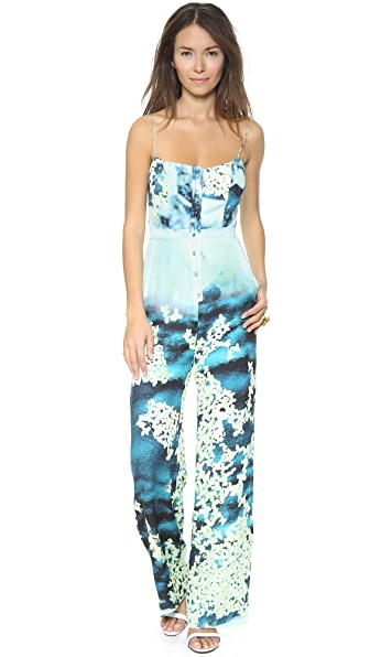 Misha Nonoo Button Front Jumpsuit