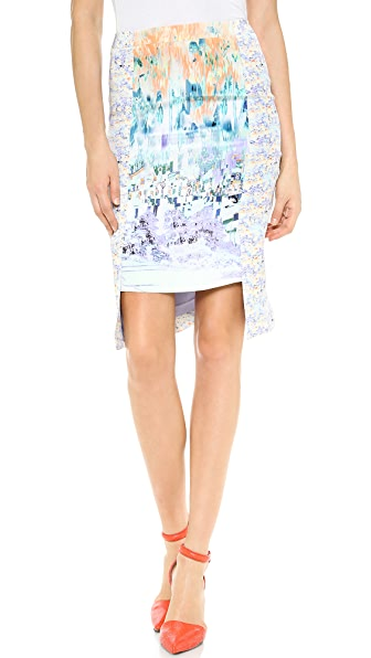 Misha Nonoo Wrap Around Panel Skirt