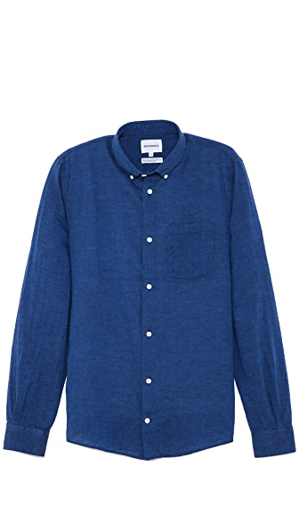 Norse Projects Emil Linen Long Sleeve Shirt