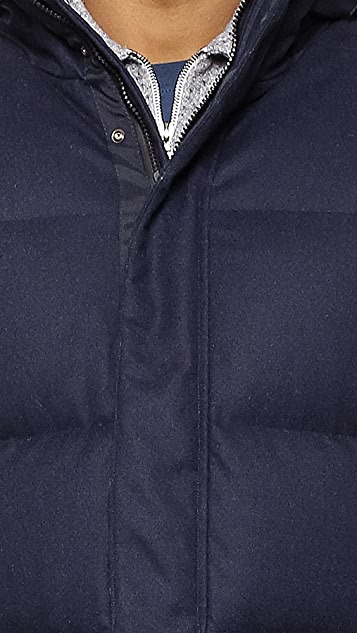 Norse Projects Willum Down Storm Wool Jacket