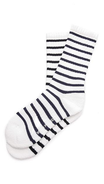 Norse Projects Bjarki Naval Striped Socks