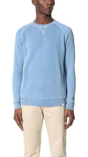 Norse Projects Tristan Indigo Crew Sweatshirt