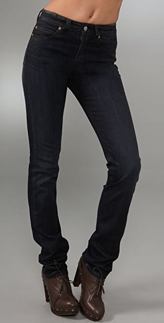 Notify Straight Leg High Rise Jeans