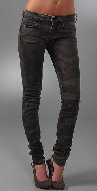 Notify Camo Skinny Jeans