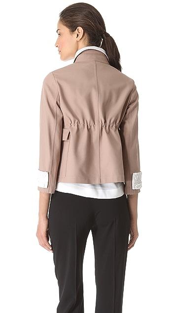 No. 21 Drawstring Stretch Jacket