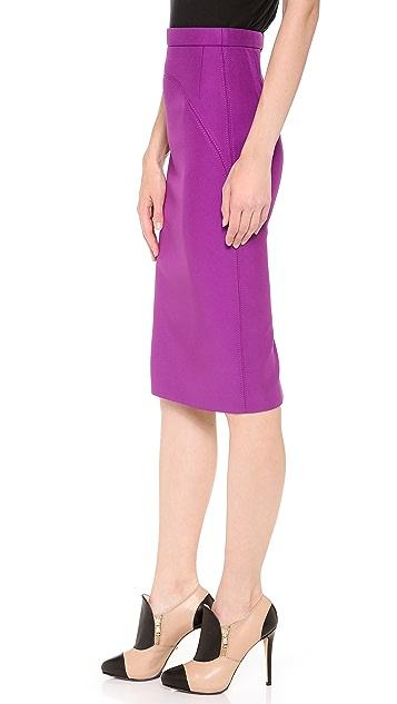 No. 21 Satin Neoprene Skirt