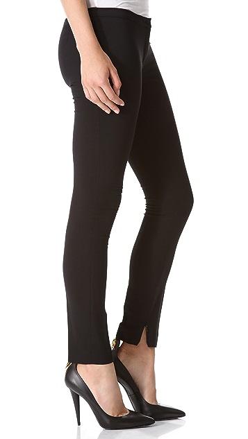 No. 21 Zip Cuff Skinny Pants