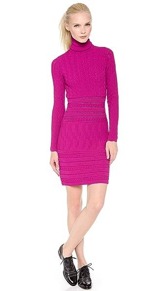 No. 21 Long Sleeve Knit Dress