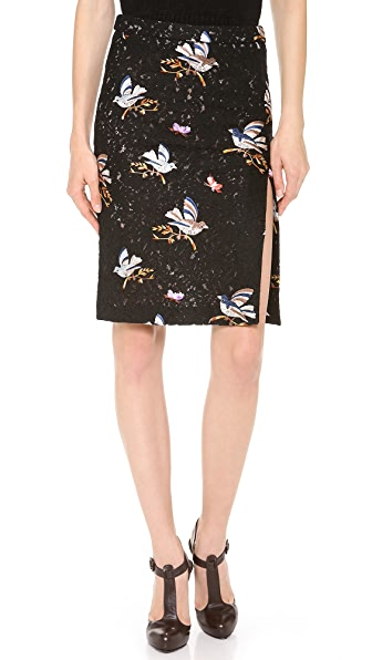No. 21 Lace Birds Skirt