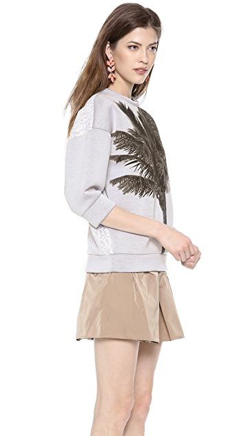 No. 21 Sweatshirt with Palm Tree