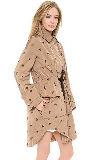 No. 21 Flocked Anorak