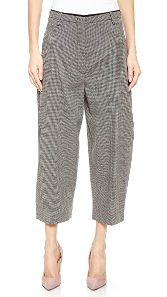 No. 21 Checkered Culottes