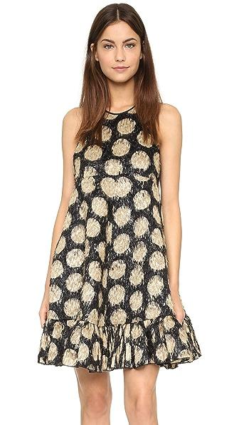 No. 21 Polka Dot Mini Dress