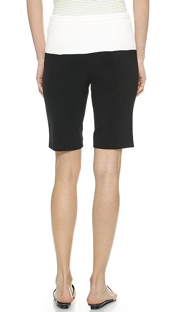 Narciso Rodriguez Scuba Bicycle Shorts
