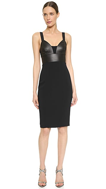 Narciso Rodriguez Bustier Fitted Dress